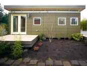12' x 24' Modern-Shed Guesthouse