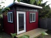 Contemporary Backyard Office