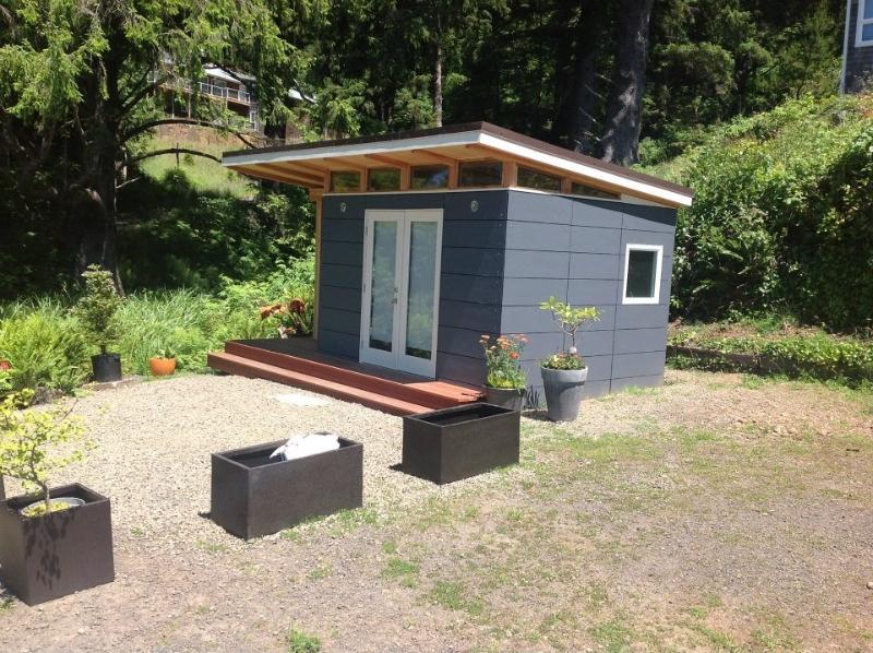 Prefab Cabin Kit: 10' x 12' Coastal - Prefab Cabin Kits ...