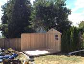West Vancouver Gable Shed