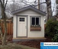 10x10 Craftsman Shed w/ Porch