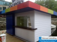 10' x 16' Floating Sales Office