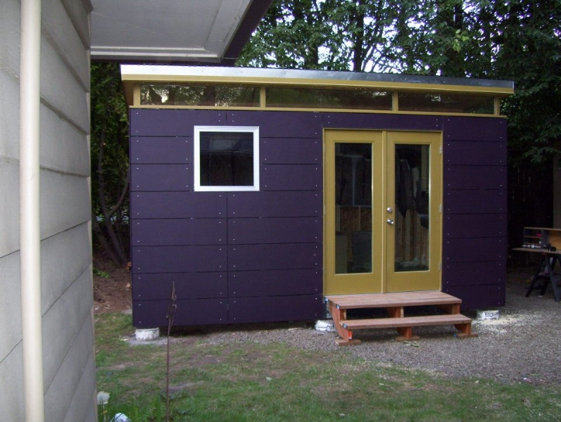 Prefabricated Shed Kit Modern