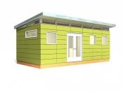 12' x 24' Modern-Shed Prefab Cabin