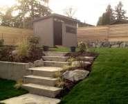 8x12 Contemporary Garden Shed