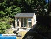 Bowen Island Prefab Art Studio