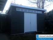 Delta 6x14 Contemporary Shed-20